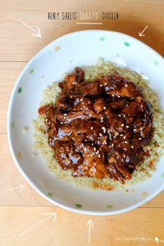 Make Ahead Freezer Meals- Honey Garlic Crock Pot Chicken