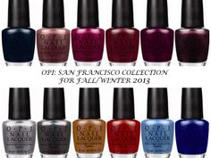 finger nail colors for fall 2013 | ... FRANCISCO COLLECTION FOR FALL/WINTER 2013- PRESS RELEASE | joyluscious