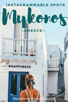 Guide to the best photography spots in Mykonos - the most instagrammable spots in Mykonos! Where to go for photos in Mykonos and when is the best time to go to Mykonos. When to take photos of the windmills of Mykonos, little Venice in Mykonos and the old town of Mykonos. #mykonos #mykonosgreece #greece #greecetravel #greecevacation #europe #europetravel #instagrammable #instagrammableplaces #greek #greekislands #traveldestinations #bucketlist #traveloutfit #travelpacking