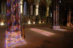 Light painting in Lincoln Cathedral Nave, who needs a palette and brush? John Of Gaunt, Window Shadow, Lincoln Cathedral, Dream Photography, European History, Light Painting, Stained Glass Windows, Lancaster, Red Roses