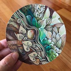 Zentangle Drawings, Doodles Zentangles, Zentangle Patterns, Doodle Drawings, Mandala Doodle, Tangle Doodle, Zen Doodle, Gem Drawing, Doodle Art Designs