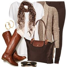 """Shades of Brown"" by wishlist123 on Polyvore"
