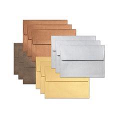 Simon Says Stamp Envelopes SET OF METALLICS ssse35 STAMPtember