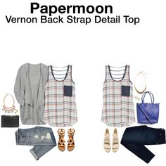 Love this cute tank!! The pattern and the little pocket