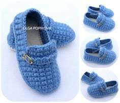 Baby Booties Knitting Pattern, Crochet Baby Boots, Crochet Baby Sandals, Baby Shoes Pattern, Booties Crochet, Crochet Baby Clothes, Shoe Pattern, Crochet For Boys, Crochet Shoes