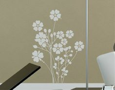 "#Vinilo #Adhesivo #Decorativo ""Ramillete Floral"""