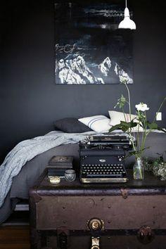 Grey bedroom- darker...like the charcol