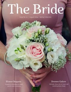 22 Best Floral Ads Images Floral Wedding Magazine Cover Template