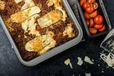 Lightened-Up Family Favorite: Cheesy Zucchini Lasagna - tried this and it was REALLY good! Didn't miss the noodles