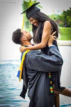 Love is. accomplishing things together - Black Love Black Love, My Black Is Beautiful, Beautiful Couple, Black Men, Beautiful Images, Black Girls, Couple Graduation Pictures, Grad Pics, Couple Pictures