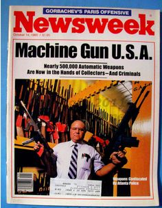 """Four decades of gun.violence, depicted in magazine covers. FOUR DECADES. When will we say """"enough""""?"""