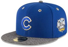 d71082f95602cc Chicago Cubs 2016 MLB All-Star Game Patch 59FIFTY Fitted Hat #ChicagoCubs  #Cubs #FlyTheW #AllStarGame #All-StarGame SportsWorldChicago.com