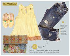 Para os dias de folga, para todas as horas: clutches! #themixbazar #casalola #bazar #clutches #alpargatas