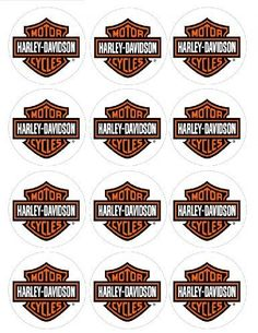 2.5 Harley Davidson Motorcycle Cupcake Edible Icing Image Toppers #3 by deco, http://www.amazon.ca/dp/B00A9M4VO0/ref=cm_sw_r_pi_dp_lG2Zrb0CJY2ZN