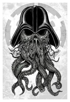 The Force Awakens From The Deep!13x19 Limited Edition giclee print on matte paper. Printed with archival inks.