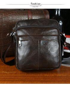 9fcbfb7f5de6 Fashion Brand 2016 New Men s Vintage Genuine Leather Messenger Bag Men Male  Cowhide Shoulder Crossbody Mini Bags
