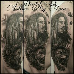 Bob Marley tattoo by me . Thanks for looking