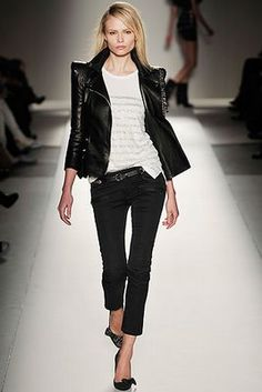 A Classic To Keep Love The Rocker Chic Style Fashion
