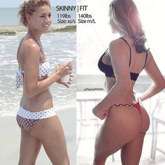 Skinny to Fit Before and After