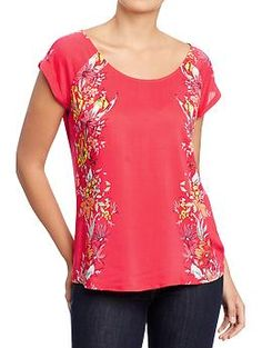 Great, lightweight blouse - perfect for summer.