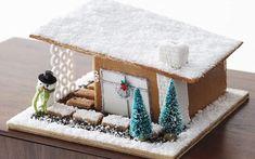 Non è la solita casa di pan di zenzero La casetta di pan di zenzero è un grande classico del Natale, tuttavia non è detto che debba essere sempre fatta nel modo classico. Ecco un tutorial per costruire una bellissima casetta di pan di zen #natale #tutorial #ricette