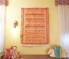 How to hang a rug (the easy way) @Brandy @ The Prudent Homemaker baby