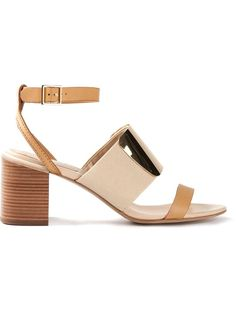 See By Chloé Plaque Detail Sandals
