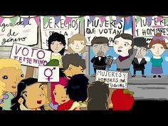 Tararea: serie animada, música y voto femenino - Zancada: Cosas de minas