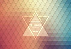 Retro Hipster Triangle Design Vector Graphic — psychedelic, decorative, decoration, moustache, geometric, wallpaper, ornament, creative, abstract, template, colorful, backdrop, pattern, origami, fashion, digital, element, vintage, texture, elegant, trendy, mosaic, shadow, layout, modern, summer, style, shape, print, light, eps10, decor, color, paper, frame, label, line, tile, grid, art, 3d