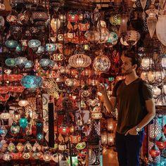Grand Bazaar, Istanbul via Adam Gallagher on Instagram