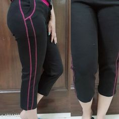 Checkout this latest Capris Product Name: *Solid Cotton Spandex Capri* Fabric: Cotton Spandex Waist Size: S - Up To 30 in To 32 in M - Up To 34 in To 36 in L - Up To 38 in To 40 in Length: Up To 39 in Type: Stitched Description: It Has 1 Piece Of Women's Capri Pattern: Solid Country of Origin: India Easy Returns Available In Case Of Any Issue   Catalog Rating: ★4.1 (513)  Catalog Name: Stylish Solid Cotton Spandex Capris Vol 3 CatalogID_241269 C79-SC1037 Code: 863-1834455-219