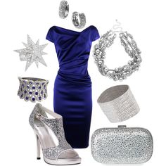 Untitled #61, created by sandy-roxx on Polyvore  ----Gorgeous Dress!