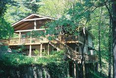 Cabin vacation rental in Balsam; 5 Bedrooms, sleeps 11 - 13, $1000/week