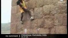monkey man climbing - YouTube