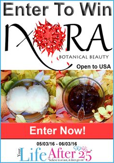 Enter To Win A @IxoraBB Skin Care Set! via @YourLifeAfter25 #Giveaway #ad