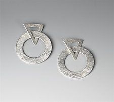 Silver Earrings by Suzanne Linquist