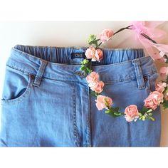 """""""Oggi belli freschi con i miei boyfriend jeans #OVS, perfetti per l'estate perché leggerissimi! #OVSPEOPLE #OVSJOURNEY"""" FEDERICA GUARNIERI"""