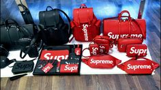 Rich Kids : Collection Louis Vuitton x Supreme Louis Vuitton 2017, Louis Vuitton Handbags, Purses And Handbags, Large Handbags, Handbags Online, Collection Louis Vuitton, Supreme Lv, Supreme Stuff, Supreme Bape