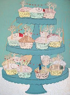 Cupcake stand by Amy Rice