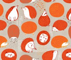 Quill Balls by Friztin fabric by friztin on Spoonflower - custom fabric