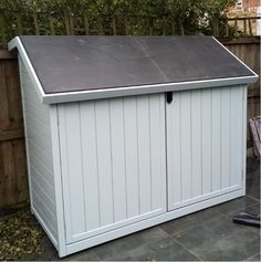 View our PEDALBASE and SPOKESHED range for secure bike storage and our matching stylish BIN STORES for house those unattractive wheelie-bins and recycling boxes. Recycling Boxes, Bin Store, Bicycle Storage, Bike Shed, Outdoor Furniture, Outdoor Decor, Sheds, Storage Solutions, Garage