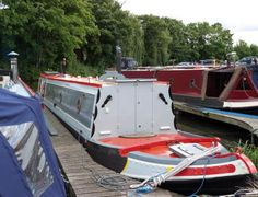 Narrowboat Interiors, Narrow Boat, Boat Fashion, Canal Boat, Boats, Colours, Paint, Picture Wall, Ships