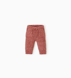 Image 1 of Knit trousers from Zara