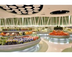 First Place: Supermarket; The Landmark – Makati, Manila, Philippines. Design Firm: Hugh A. Boyd Architects. Photography: Toto Labrador, Quezon City, Philippines