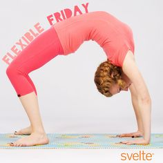 We're feeling flexible this Friday! Do some #yoga today and relax your mind & body heading into the weekend.