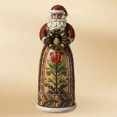 Give With A Generous Spirit-Williamsburg Santa Figurine