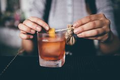 Colombian Negroni - Coffee beans infused Aperol, Colombian Dictador aged gin, Lillet rose, Orange peel & OLG Campari tincture