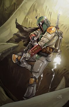 Boba Fett...See more Star Wars pics at www.freecomputerdesktopwallpaper.com/sww.shtml