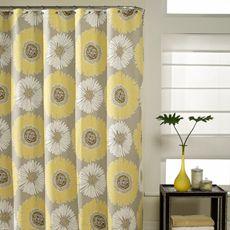 Bloom 72' x 72' Fabric Shower Curtain - Bed Bath & Beyond