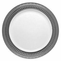 10.25  Clear/Silver Plastic Symphony Dinner Plates  sc 1 st  Pinterest & Bulk Wedding Party Disposable dinnerware Heavyweight China ...
